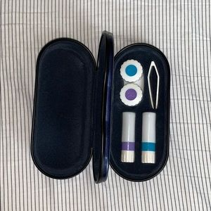 Other - combined eyeglass and contact lens case